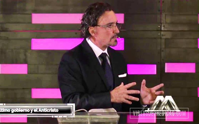 Armando Alducin predica sobre las condiciones politicas y religiosas que anticiparan la llegada del Anticristo