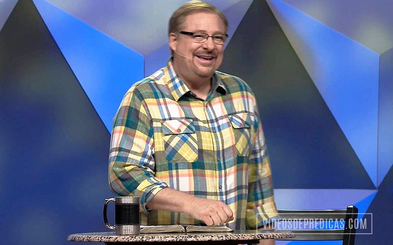 El Pastor Rick Warren explica en su predicacion, las claves para  tener una vida con proposito