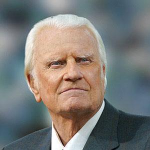 imagen del predicador Billy Graham